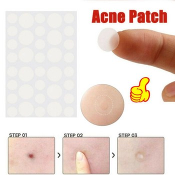 36pcs/set Hydrocolloid Acne Invisible Pimple Master Patch Skin Tag Removal Patch Pimple /Blackhead Blemish Removers Facial Care