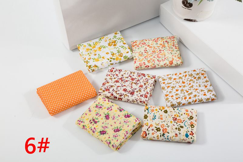 H742d43cda48b4ca187473a36c96726a6W 25x25cm and 10x10cm Cotton Fabric Printed Cloth Sewing Quilting Fabrics for Patchwork Needlework DIY Handmade Accessories T7866