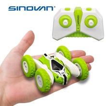 Sinovan Hugine RC Car 2.4G 4CH Stunt Drift Deformation Buggy Car Rock Crawler Roll Car 360 Degree Flip Kids Robot RC Cars Toys