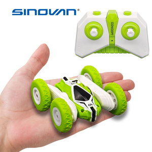 Sinovan Hugine RC Car 2.4G 4CH Stunt Drift Deformation Buggy Car Rock Crawler Roll Car 360 Degree Flip Kids Robot RC Cars Toys(China)