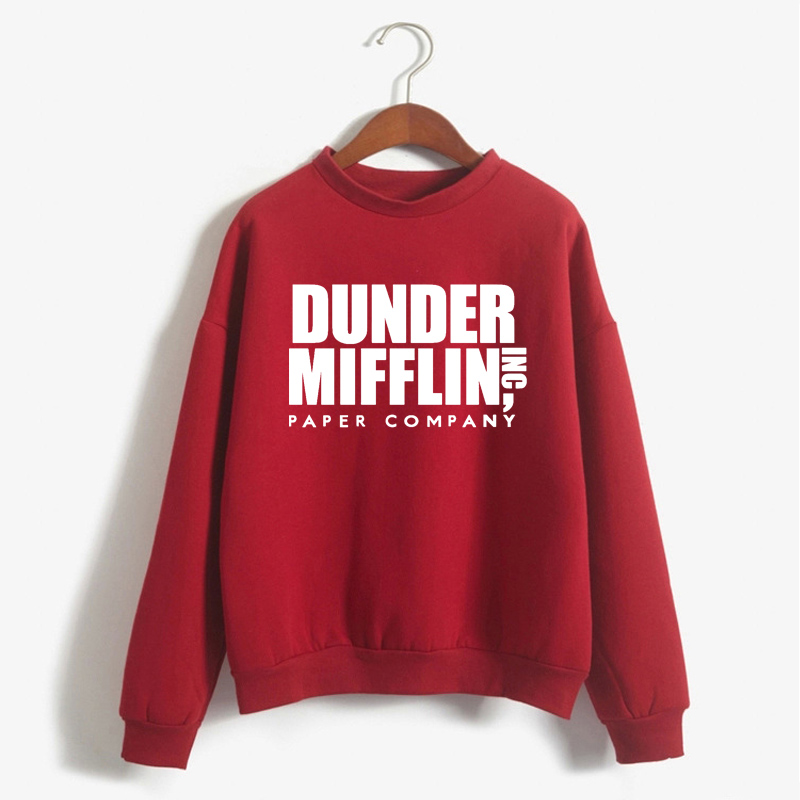 Tops The Office Tv Hoodie Men Women Dunder Mifflin Inc Paper Company Wernham Hogg TV Show Michael Scott Space Sweatshirt 13