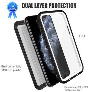 Image 4 - Waterdichte Case Voor Iphone 11 Pro Max Shockproof Case Voor Iphone Xs Max Xr Xs Funda 360 Volledige Bescherming Transparant duiken Case