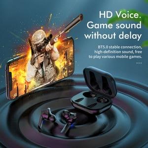 Image 5 - HOCO TWS sans fil Bluetooth écouteur 5.0 contrôle tactile Intelligent sans fil TWS écouteurs 3D stéréo jeu Sport casque
