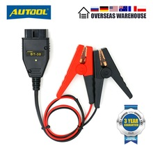 AUTOOL BT-30 Battery OBD2 Connectors Emergency Power Off  Protector ECU Memory Cable BT 30 OBD 2 Car Take the Electricity Cable