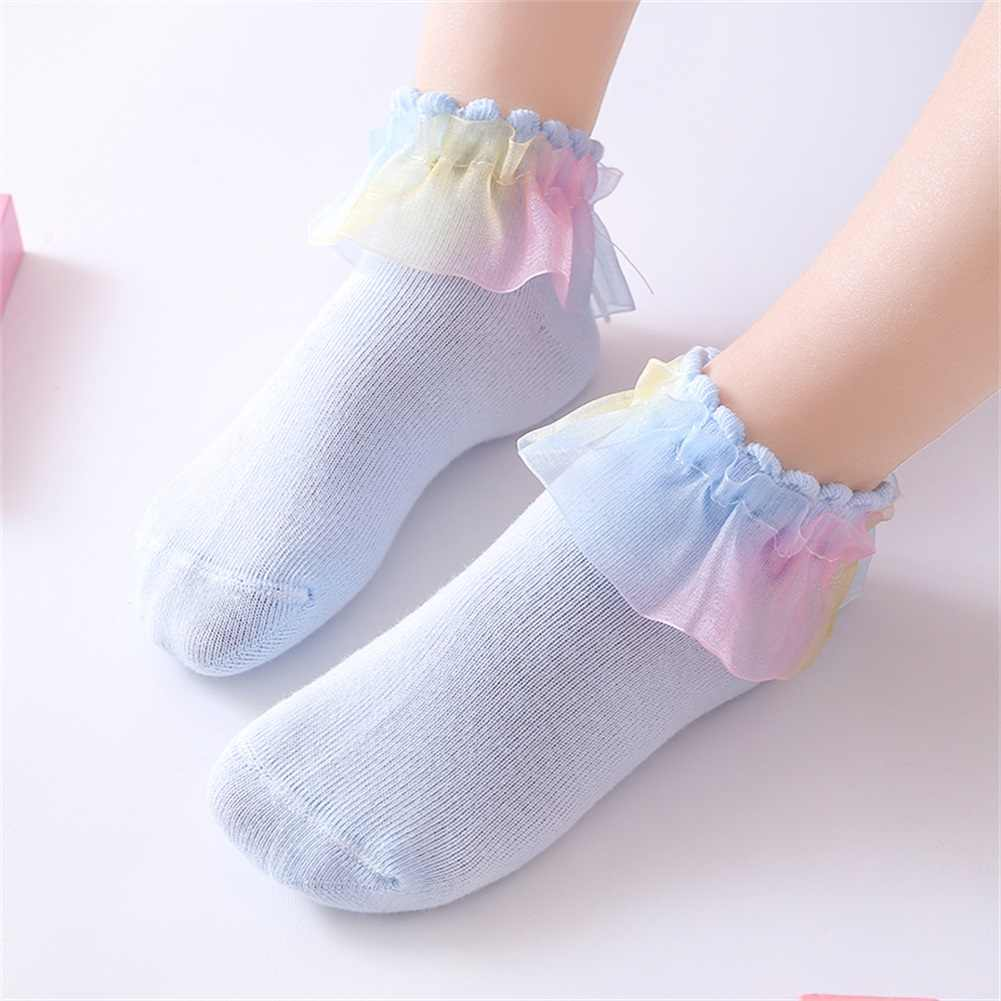 Baby Girls White Tutu Ankle Socks 12-24 Months Spanish Organza Babies Bow Frilly
