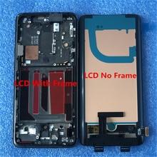 """6.67 """"orijinal Supor Amoled OnePlus 7 Pro OnePlus 7Pro LCD ekran ekran + dokunmatik Panel sayısallaştırıcı çerçeve Oneplus 7T pro"""
