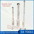 Спиральная паза SD лопата сверла SD00H-064  114  178 XP25 быстрая спиральная кромка сверла с + 1 шт. Бесплатная 13 0-17 5 HSS лопата сверла вставки