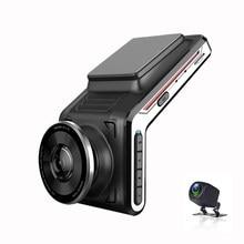 WI-FI видеорегистратор 2k передние и задние 1080p 2 камера с двумя объективами Автомобильный видеорегистратор smart автомобильных видеорегистрато...