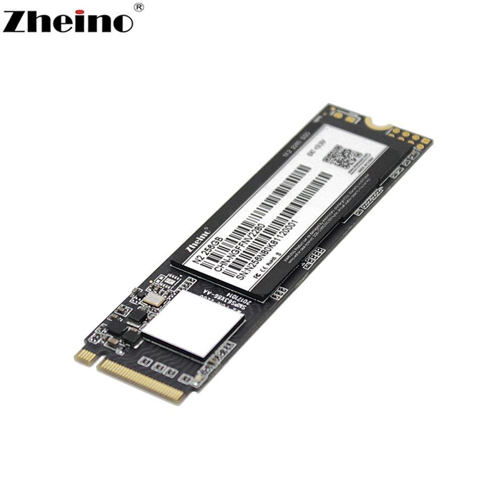 Zheino SSD M.2 PCIe N2 256GB NVMe 2280 mm Voor Laptop Interne Solid State Harde schijf-in Interne Solide Aandrijfstations van Computer & Kantoor op AliExpress - 11.11_Dubbel 11Vrijgezellendag 1