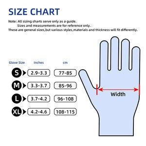 Image 5 - Nitrile перчатки водонепроницаемые GMG зеленый желтый 12 дюймов Алмазный Узор безопасные рабочие перчатки защитные механики перчатки