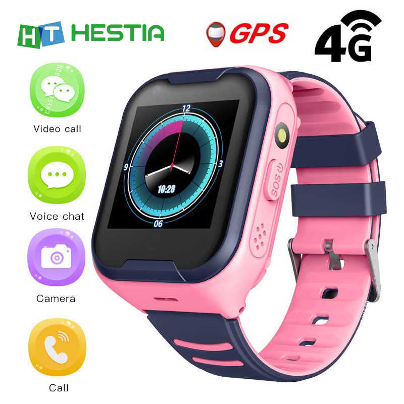 Smart Watch for Children 4G Network Wifi GPS SOS Smart Watch Kids Video call IP67 waterproof Alarm Clock Camera Baby Watch