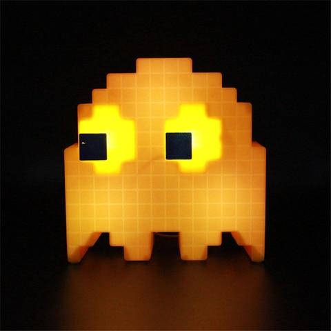 pac man pixel night light led guerras