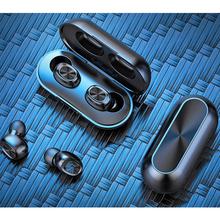 2020 Hot sprzedaży B5 słuchawki bezprzewodowe TWS Bluetooth słuchawki bezprzewodowe słuchawki Stereo bezprzewodowe słuchawki sportowe słuchawki bezprzewodowe s zestaw słuchawkowy tanie tanio MagiDeal Technologia hybrydowa wireless Zaczep na ucho 122±3dBdB Nonem Słuchawki HiFi Typ linii Brak HiFi Wireless Headphones