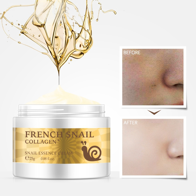 Snail Face Cream Hyaluronic Acid  Anti Wrinkle Anti Aging Collagen Repairing Day Cream Skin Care Serum Serum Facial-s