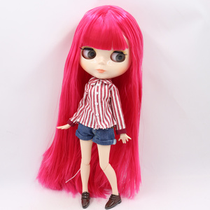 Image 4 - ICY Blyth doll No.1 glossy face white skin joint body 1/6 BJD special price 1/4 BJD,Pullip,Jerryberry,Licca toy gift
