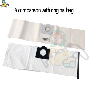 Image 5 - Filter dust bags for Karcher WD3 Premium WD 3.300  WD 3.200 WD3.500  SE4001 WD3 P 6.959 130 6.414 5520 cleaner parts