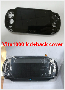 Image 3 - For psvita ps vita psv 1000 pch 1001 lcd display screen +back cover housing shell case+ buttons kit screws set