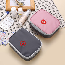 First Aid Kit Bag Portable Travel Medicine Package Emergency Kit Bags Small Medicine Divider Storage Organizer Home Outdoor
