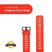 Disponibile cinturino originale Amazfit Pace cinturino rosso nero per Amazfit Smart Watch Pace Smartwatch senza scatola