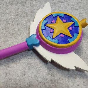 Image 4 - スター対邪悪なコスプレ悪プリンセス魔法のスティック杖コスプレ姫スター蝶のアクセサリーの小道具