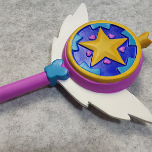 Image 4 - Star vs. the Forces of Evil cosplay evil Princess Magic Stick Wand Cosplay Princess Star Butterfly Accessories Props