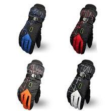 FAVSPORTS зимние унисекс спортивные сенсорные ветрозащитные термофлисовые перчатки для бега для пеших прогулок Велоспорт Лыжный спорт велосипед