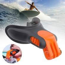 1pc dentes suspensórios titular boca montagem com floaty para gopro acessórios de mergulho câmera sjcams hero surf w6m3