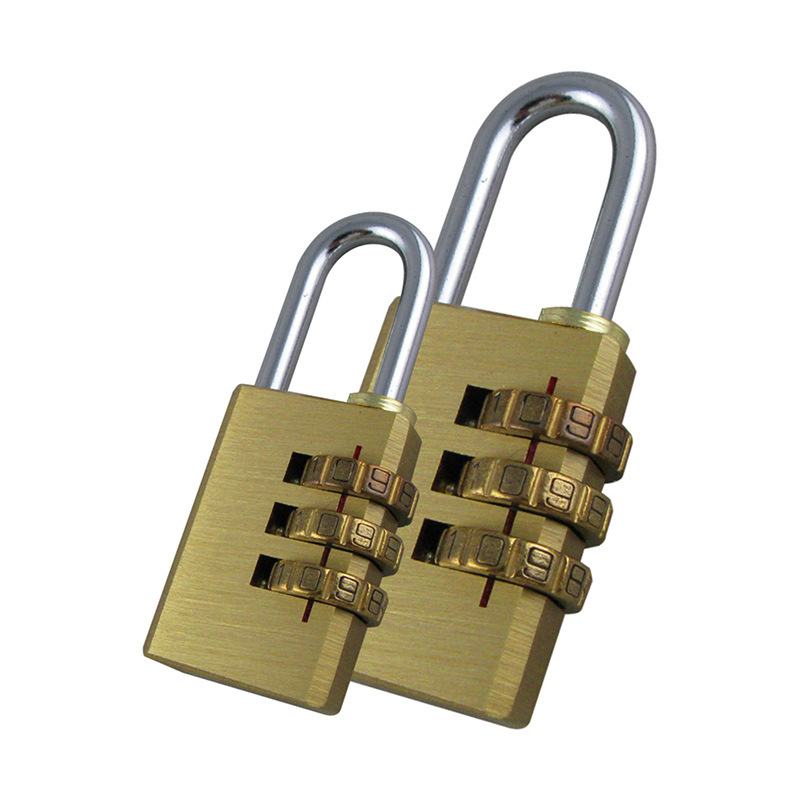 30 Mm Padlock With Password Required Gym Password Lock Outdoor Travel Lock Head Luggage Trolley Luggage Anti-Theft Padlock