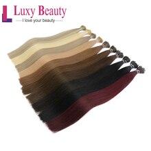 """Lucybeauty 1""""-22"""" 1 г/шт. 8 цветов нано-наращивание волос искусственные волосы одинаковой направленности микро кольцо нано бусина волосы микро-звено наращивание волос"""