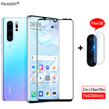 2-in-1 Camera Len Glass Film Huawei P30 Pro Screen Protector Protective Lite Tempered P 30