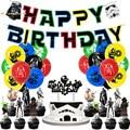 С принтом «Звездные войны» латексных воздушных шаров с тема из Звездных Войн набор День рождения украшения Мастер Йода воздушные шарики, де...