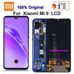 Original For xiaomi Mi 9 LCD Display Touch Screen Digitizer Assembly For Xiaomi Mi 9 Mi9 Display Screen Replacement Parts
