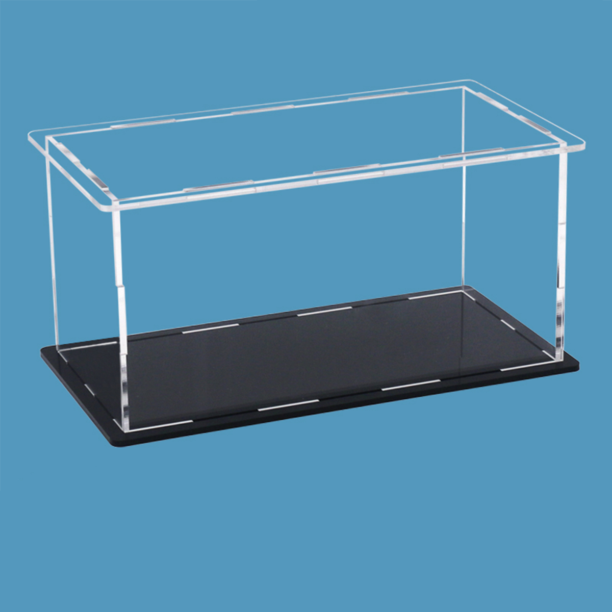 DIY Acrylic Display Case for 21302 Blocks Toy Bricks Transparent/Black Base Display Case (Model Not Included) image