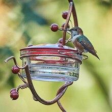 Кормушка для птиц во дворе, Кормушка Для Колибри с красными ягодами, кормушка для птиц во дворе, Кормушка Для Колибри с красными ягодами