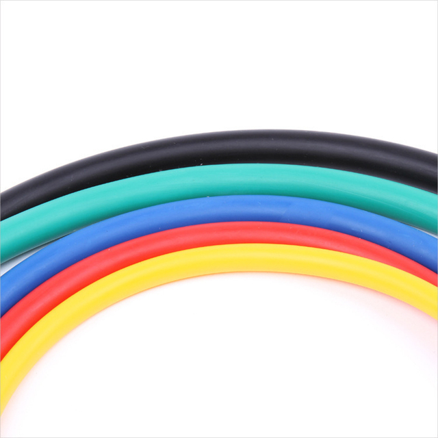 New 14Pcs Resistance Bands Set Yoga Exercise Fitness Band Rubber Loop Tube Bands Gym Fitness Exercise Pilates Yoga Brick 3