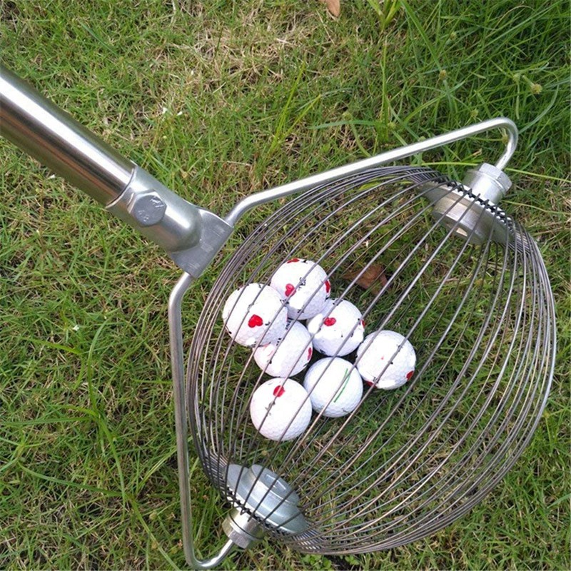 Golf Ball Picker Balls Easy Pick Up Gear Bucket Style Golf Ball Retriever Golf Practice Training Pick Up Tool Collector M2200