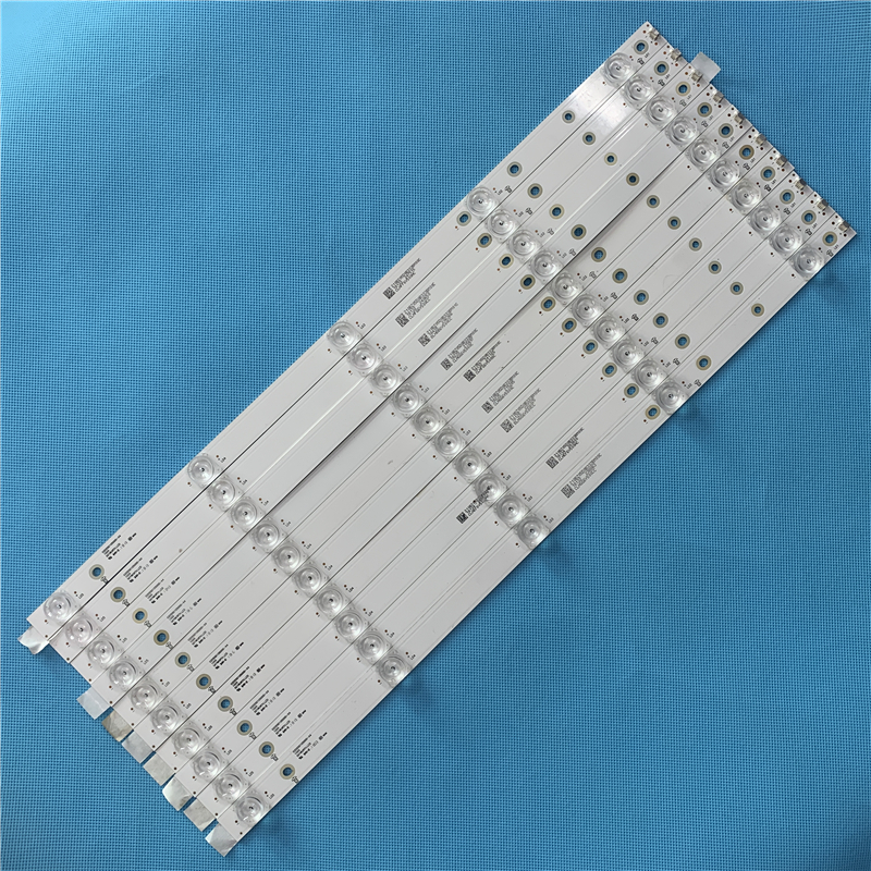 Original 515mm LED Backlight Strip For Philips 55 INCH 55puf6693/T3 02D550105000-X4  55inches Tv10 PCS Tv Parts