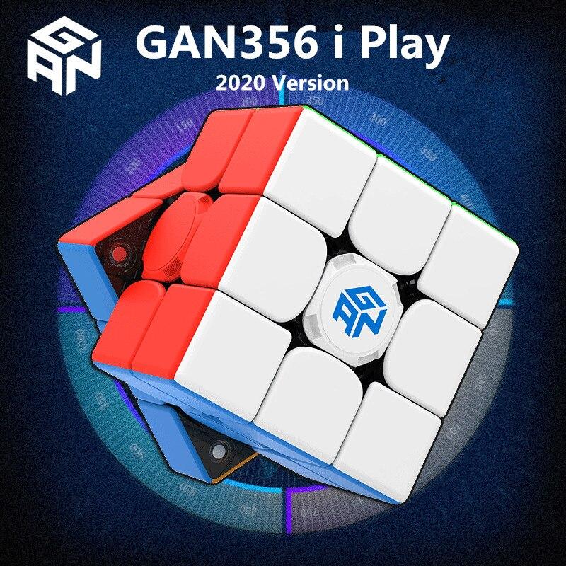 GAN356 I Play 3x3 Magic Cube GAN 356i Play 3x3x3 Puzzle Speed Cube Gans 3x3x3 Cube Magnetic Competition Cube Gan 356 I Play Cube