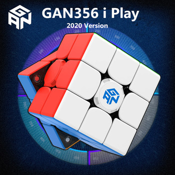 GAN356 i Play 3x3 Magic cube GAN 356i play 3x3x3 puzzle speed cube gans 3x3x3 cube Magnetic Competition Cube gan 356 i play cube фото