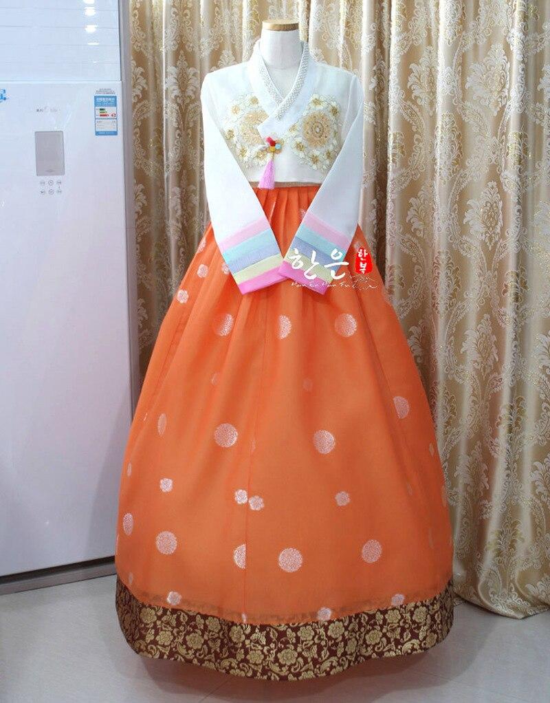 Korea Imported Fabric / New Improved Hanbok / Stage Hanbok / Fine Hanbok