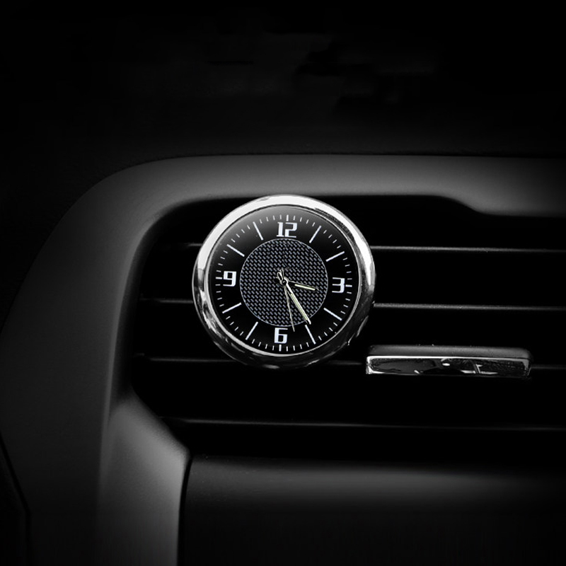 For BMW For Audi For Mercedes For Honda For Ford For Toyota Car Clock Luminous Table Refit Interior Quartz Watches Car Ornaments