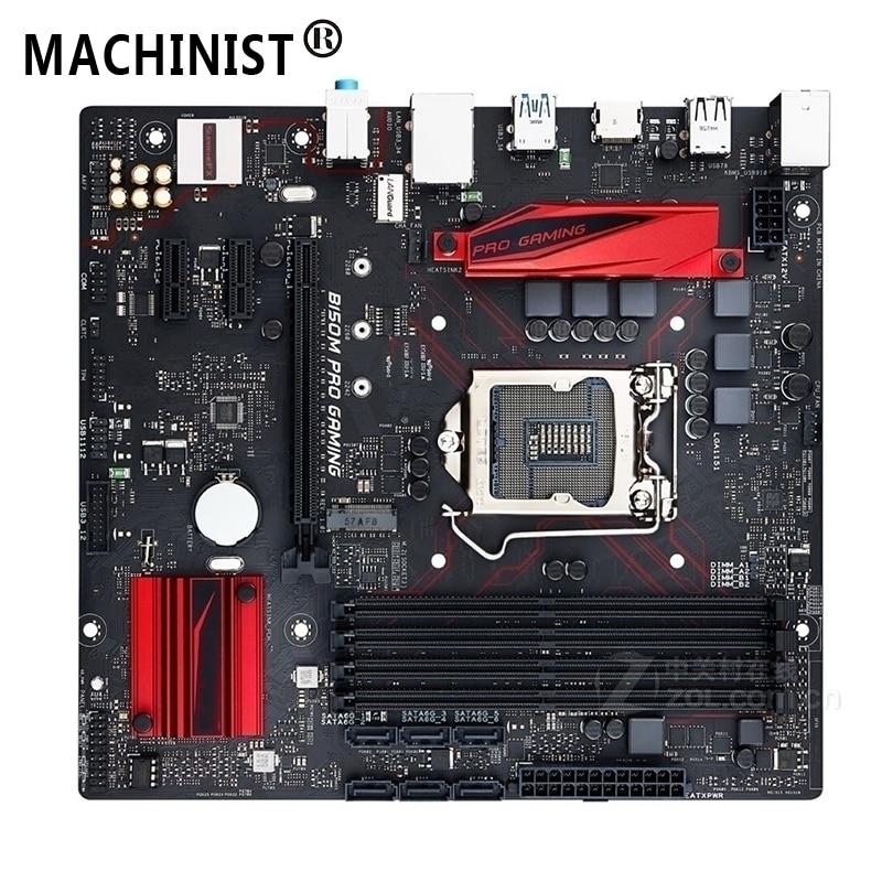 For ASUS B150M PRO GAMING Desktop motherboard MB Intel B150 LGA1151 micro ATX DDR4 64GB M.2 SATA3.0 USB3.0 7