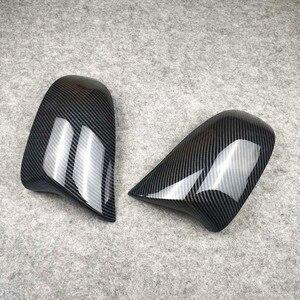 Image 3 - Coppia di accessori per auto coperchio specchietto retrovisore materiale ABS adatto per X3 X4 X5 X6 F25 G01 F26 G02 E70 F15 G05 E71 F16 G06