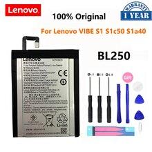 100% Оригинальный аккумулятор BL250 2420 мАч для Lenovo VIBE S1 S1c50 S1a40 VIBE S1Lite S1La40, аккумуляторные батареи для телефона, батарея