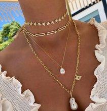 2021 altın kaplama moda mikro açacağı CZ emniyet pimi Link zinciri gerdanlık kolye kadınlar için klasik lüks takı yılbaşı hediyeleri
