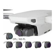 Mavic Mini filtr CPL filtry polaryzacyjne regulowany obiektyw ND ND4 8 16 32 64 PL dla Dji Mavic Mini Drone akcesoria do aparatu