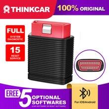 Thinkcar 프로 자동차 스캐너 블루투스 IOS 안드로이드 자동차 진단 도구 15 재설정 서비스 OBD 2 Thinkdiag 미니 자동 스캐너 PK X431