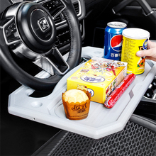Car-Desk Table-Holder Coffee-Goods Steering-Wheel Stand Board-Mount Food Eat Dining-Tray