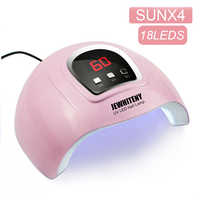 Pink UV LED Nail Lamp Curing ALL Gel Polish UV Lamp for Manicure Pecicure With LCD Display Nail Dryer Nail Art USB Lamp