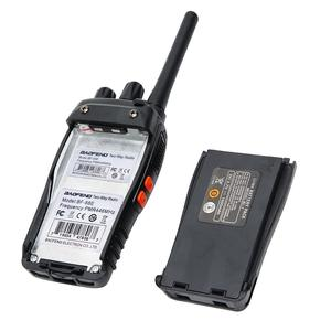 Image 4 - 2 pièces Baofeng BF 88E PMR Version mise à jour du talkie walkie 888S avec chargeur USB UHF 446 MHz 0.5 W 16 CH Radio Portable Portable